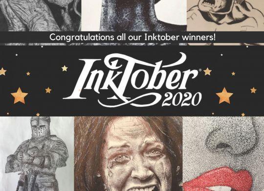 Inktober winners